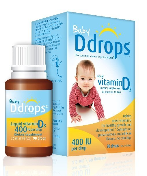 D3 drops for infants