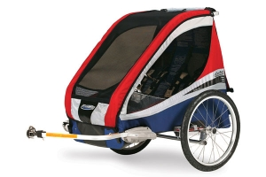 Chariot Carriers' Corsaire XL bike trailer review |