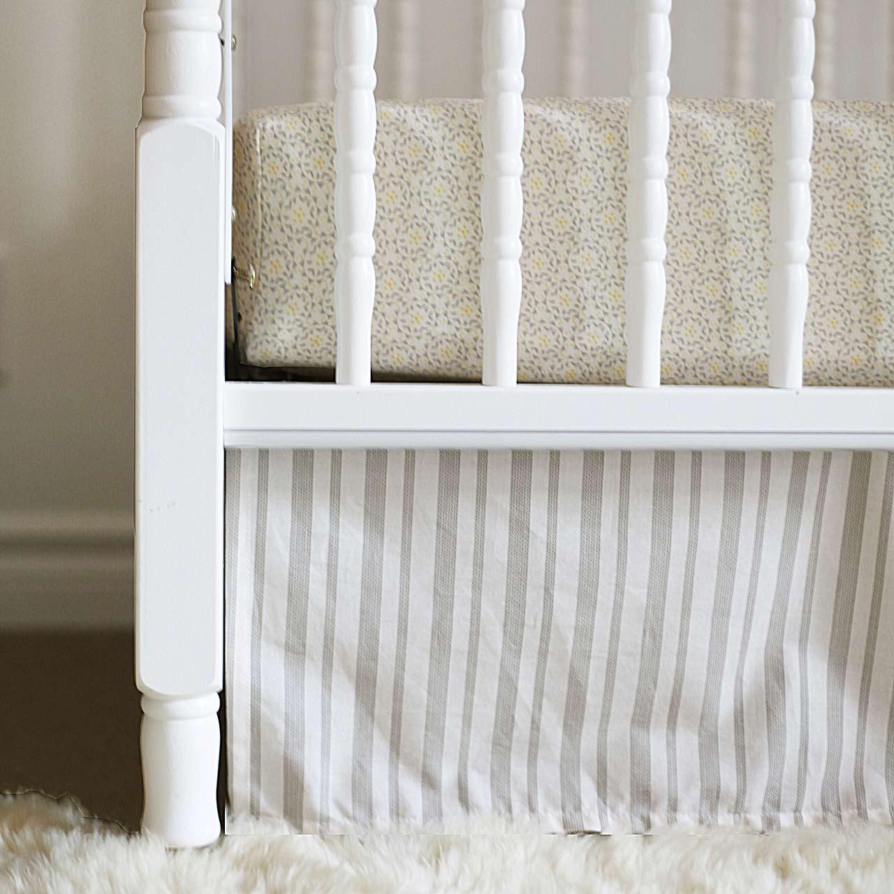 om home organic cotton crib sheet review  - om home avnee gray