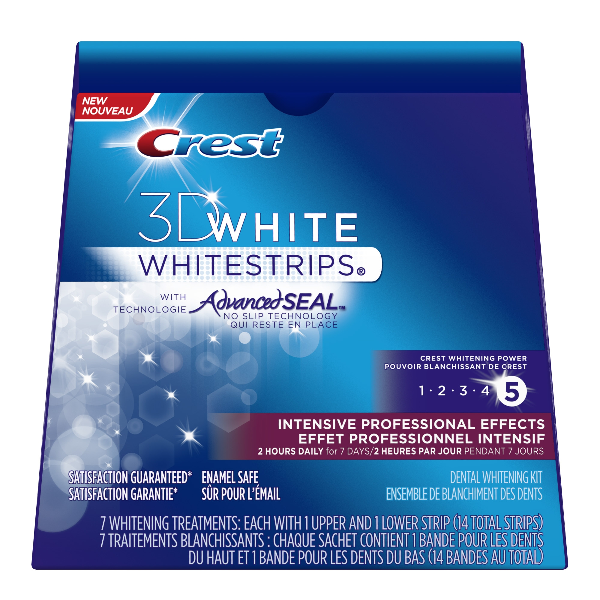 Crest 3DWhite Intensive Professional Effects Whitestrips