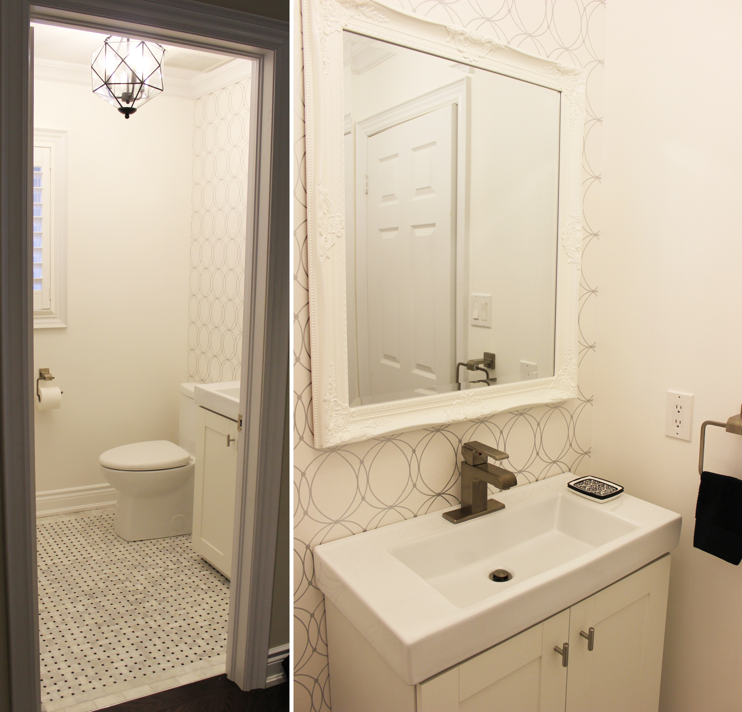 Powder room renovation with The Home Depot Canada
