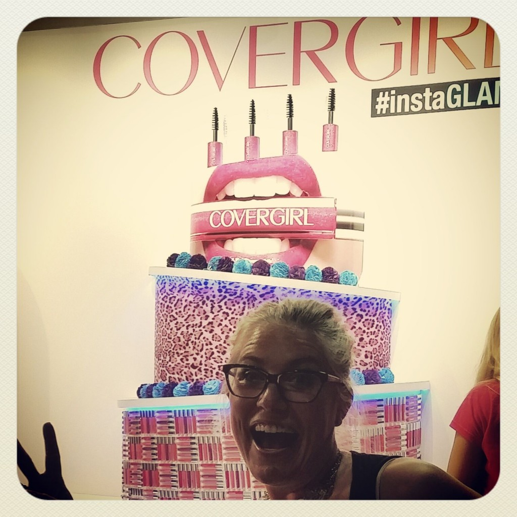 One of my #InstaGLAM selfies on concert night.