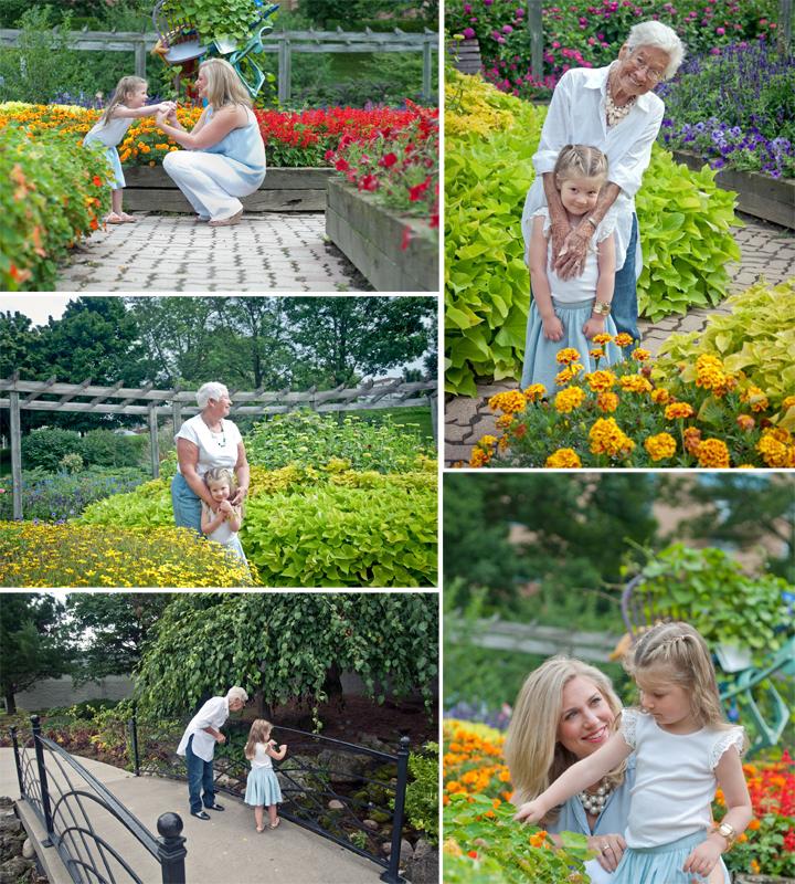 Four-generation photo shoot