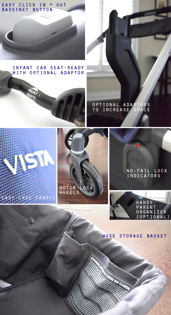 2015 UPPAbaby VISTA features2 & UPPAbaby VISTA 2015 review |