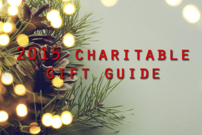 2015 charitable gift guide - feature social