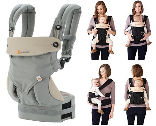 Babywearing with the Ergobaby 360 carrier