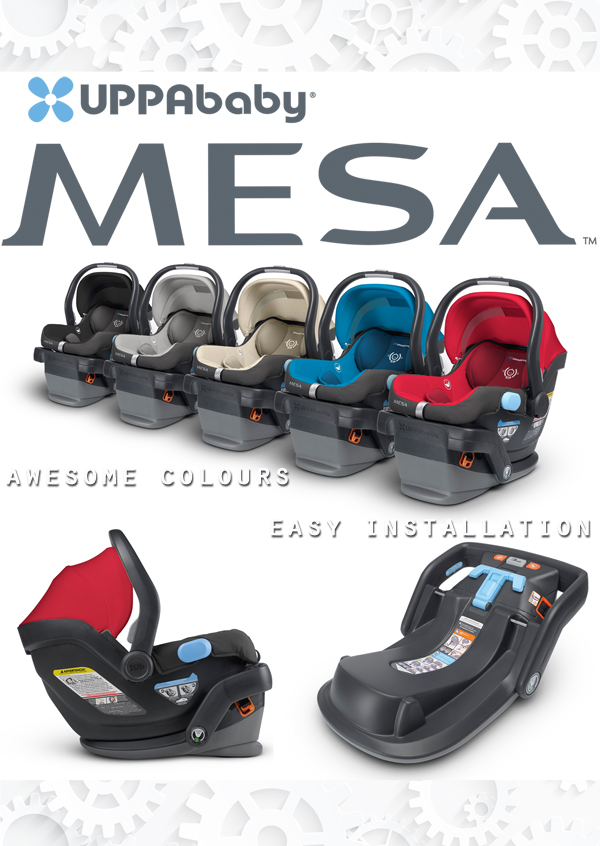 uppababy mesa infant car seat review mommy gearest. Black Bedroom Furniture Sets. Home Design Ideas