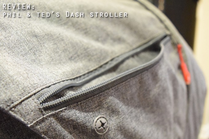 phil & ted's Dash stroller - feature