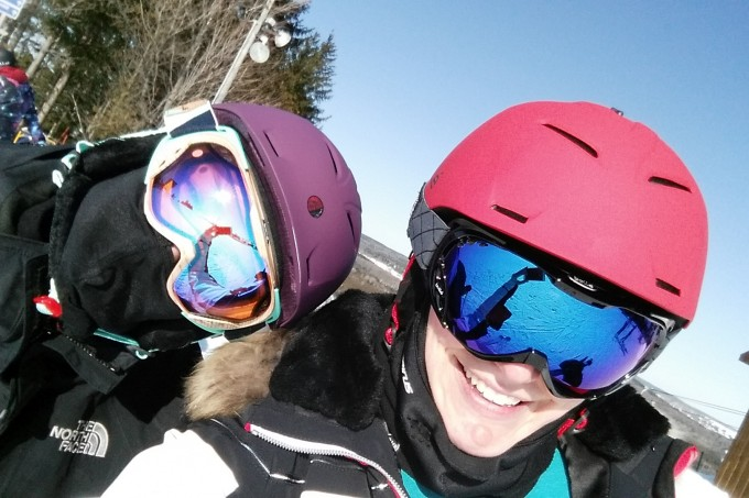 Bolle goggles and helmet fit for women