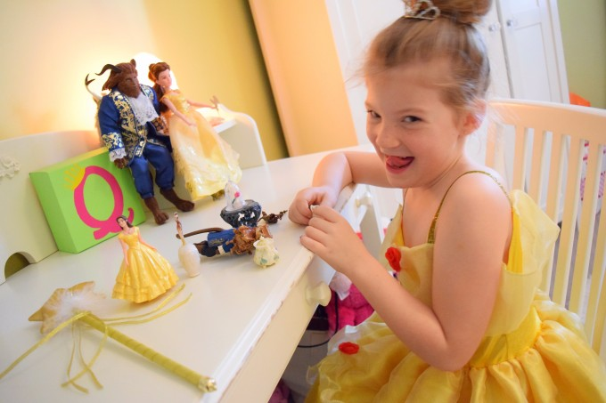 Beauty and the Beast toys from movie