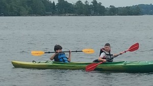 Kayaking in the Kawarthas