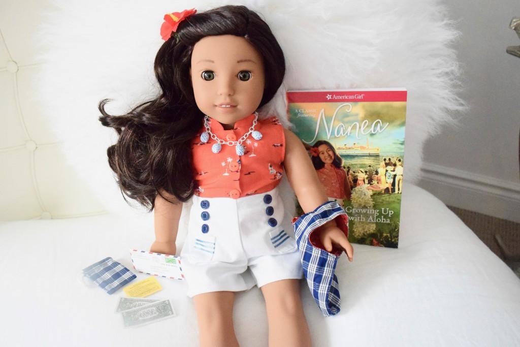 American Girl BeForever doll set, Nanea Mitchell