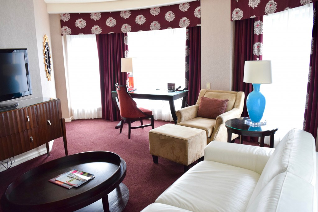 InterContinental Montreal family suite