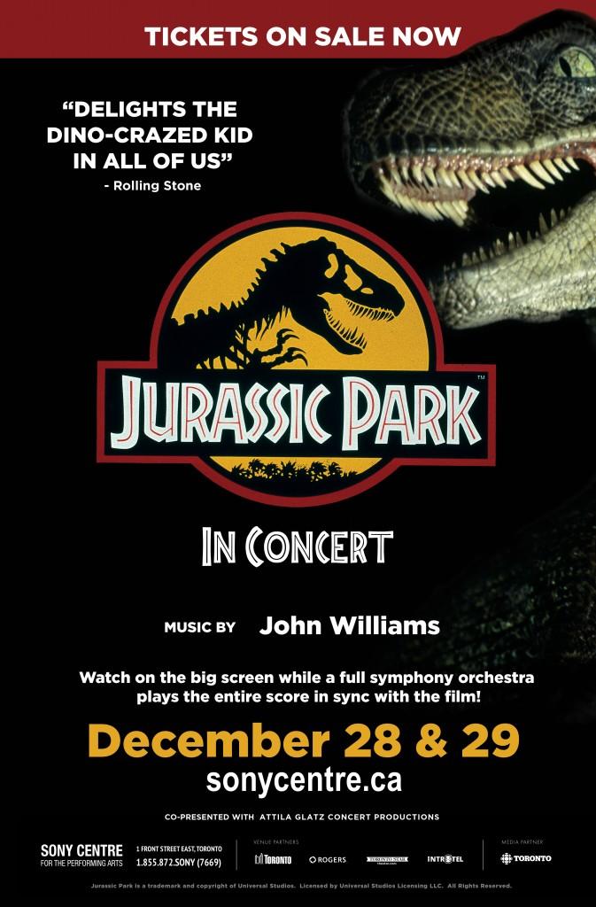 Jurassic Park In Concert Toronto Mommy Gearest