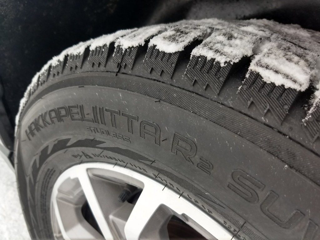 Kal Tire winter tire installation