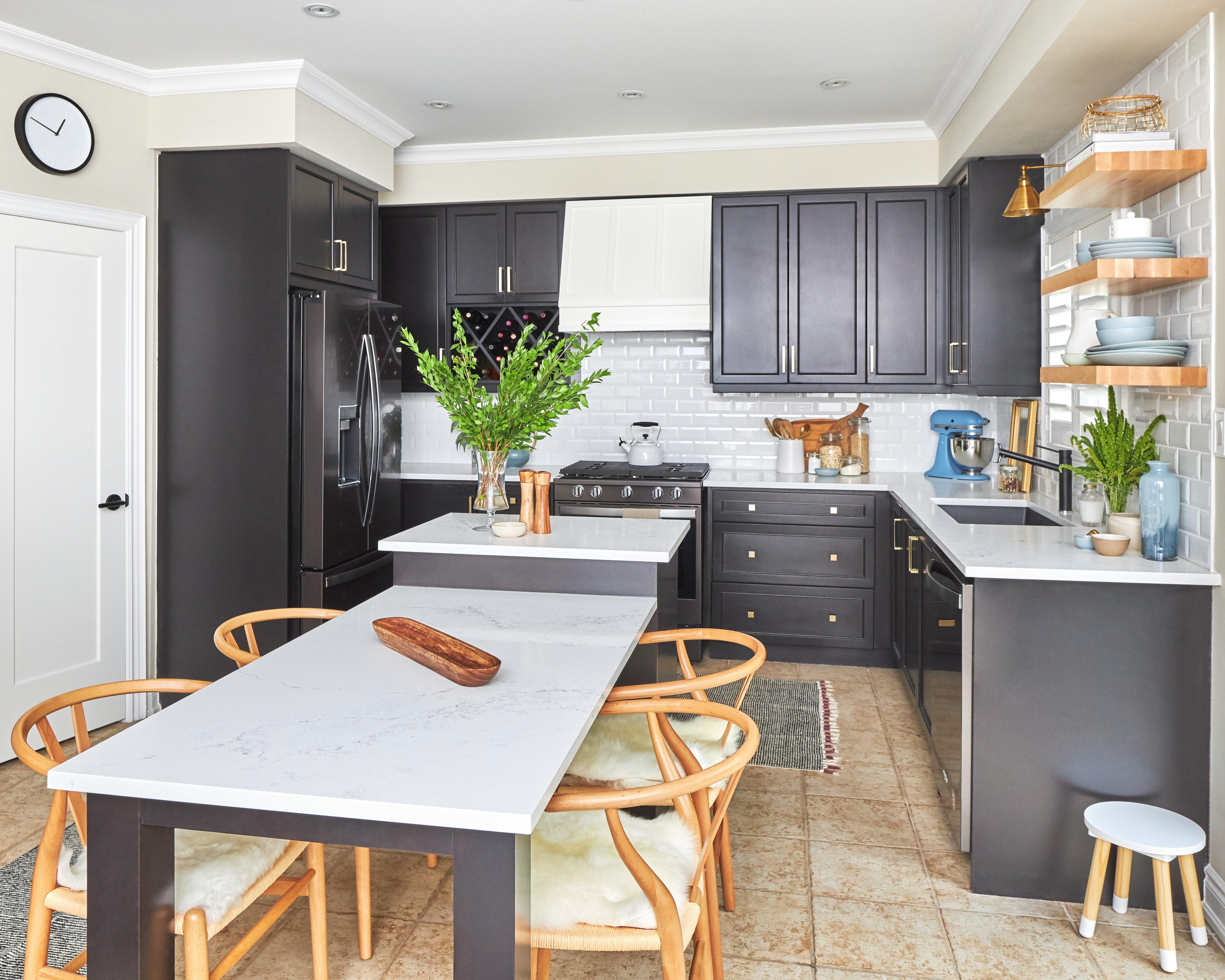 Our Kitchen Refresh Transitional Kitchen Design Mommy